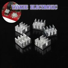 20PCS Lot Aluminum MOS Mini IC Chipset Cooling Cooler Heat Sink Heatsinks
