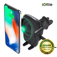 iOttie Easy One Touch Wireless Qi Charging Fast Charge Universal Vent Mount