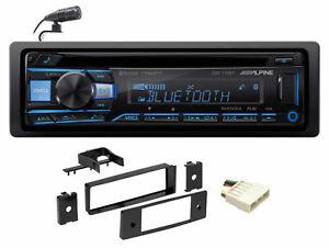 ALPINE Bluetooth CD Receiver USB/AUX SiriusXM For 96-98 Honda Civic