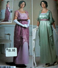 LOVELY EDWARDIAN 1910s DRESS COSTUME Sewing Pattern 14-16-18-20-22 UNCUT