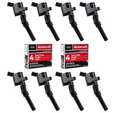 Ignition Coil DG508 and Motorcraft Spark Plug SP479 for Ford 4.6L 5.4L V8 DG457