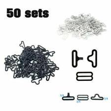 50 Sets Adjustable Bow Tie Clip Hardware Krawatte Clips Haken Verschluss Strap