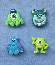 Monsters Inc fridge magnets set of 4