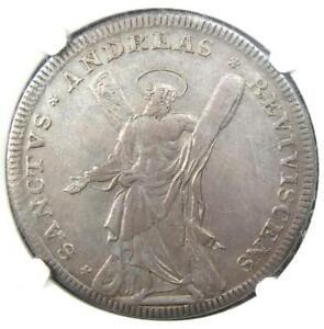 1713 Germany Brunswick Anton Wildman Taler 1T Coin - Certified NGC XF45 (EF45)