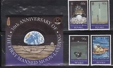 Tuvalu 800-804 Space and the Apollo Lunar Landings Mint NH