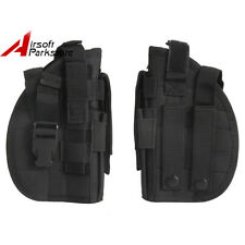 Tactical Military Airsoft Molle Pistol Handgun Holster Pouch Bag for Right Hand