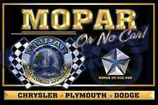 Mopar or No Car Custom 2'x3' Banner