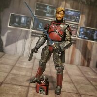 Star Wars Black Series Obi Wan kenobi Mandalorian Super Commando custom lot