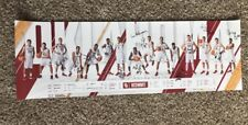 Trae Young  Oklahoma Sooners Team Schedule Signed Poster Lun Kruger #2