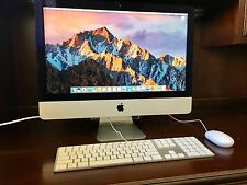 "Apple iMac 21.5"" Core i7, 8GB RAM, 1TB Drive"