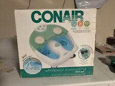 Conair whirlpool massaging foot spa. Rotating Massaging Action & Heat Brand New