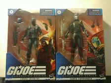 GI Joe Classified Series #24 COBRA INFANTRY & #06 Cobra Commander! READY TO SHIP