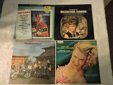 Lot of 4 records Floyd Cramer/Wayne King Orchestra/Skeeter Davis/Eddys Songs