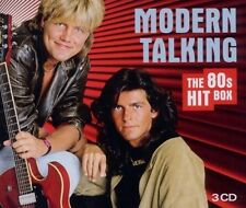 MODERN TALKING - THE 80'S HIT BOX 3 CD 58 TRACKS INTERNATIONAL POP BEST OF NEUF