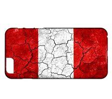 Coque iPhone PLUS 8+ Drapeau PEROU 03
