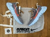 Nike Space Hippie 01 Vast Grey Hyper Crimson UK 7 EU 41 BRAND NEW 100% Authentic
