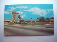 SYL-VA-LANE MOTEL AND RESTAURANT SYLVANIA GEORGIA VINTAGE POSTCARD souvenir