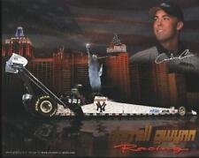 2002 Andrew Cowin NY Yankees Top Fuel NHRA postcard