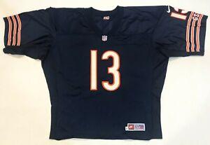 Vintage Nike NFL Proline Chicago Bears MIRER #13 Football Jersey 56 Sz Navy Blue