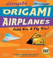 Simple Origami Airplanes Kit: Fold 'Em & Fly 'Em!: Kit with Origami Book Book, 1