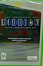 The Chronicles of Riddick Escape from Butcher Bay Bonus Dvd ( Game Not Included)