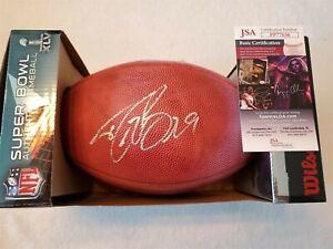 DREW BREES signed Wilson Super Bowl football Game Ball DUKE JSA COA SAINTS
