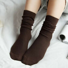 Women Cotton Socks Hosiery Long Fluffy Casual Loose Everyday Winter Warmers Sock