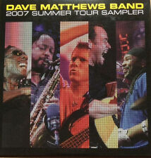 Dave Matthews Band - 2007 Summer Tour Warehouse Sampler Rare Promo Single DMB CD