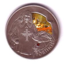 BIELORUSIA 20 rublos plata 2009 PHORTOS de la Serie 3 Mosqueteros BELARUS