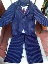 EURO BBC 10TH DR DOCTOR WHO DAVID TENNANT COSTUME SUIT PANTS CHILD BOYS S 5 6