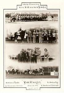 """1946 - Arkansas Derby Winner - BOB MURPHY - 4 Photo Composite - 8"""" x 10"""""""