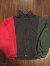 Vintage Nautica Colorblock Fleece Lined Jacket Large 90s