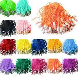 100pcs 50mm Mobile Cell Phone Lanyard Cords Strap Lariat String Charm Keychain