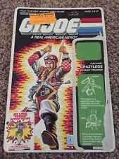 GI Joe Action Figure Full Back File Card ARAH Crazy Legs