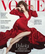 Vogue Australia October 2018, Dakota Johnson Hollywood Royale, Giorgio Armani