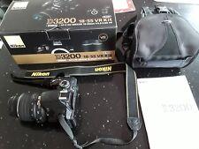 Nikon D3200 24.2MP Digital SLR Camera - (Kit AF-S DX VR 18-55mm Lens) Boxed