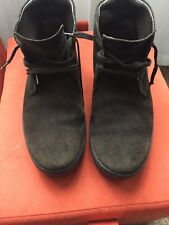 Man TODS Brown Suede Leather Ankle Boots Size 7.1/2 Uk