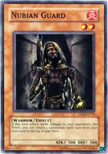 YUGIOH x 3 Nubian Guard - DR2-EN179 - Common - Unlimited Edition Near Mint