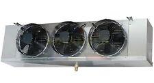 Low Profile Walk-In Cooler Evaporator 3 Fans Blower 18,000 BTU, 2,100 CFM / 220V