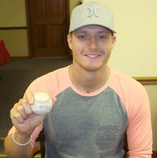 Shelby Miller SIGNED Atlanta Braves MLB DEBUT Game Used Baseball Cardinals 2012
