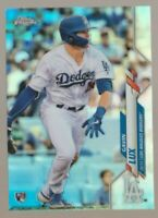 Gavin Lux 2020 Topps Chrome Refractor Rookie #148 Dodgers