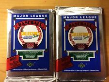 2 1989 Upper Deck Baseball Low Series Packs. Possible Griffey Rookie. Free Ship