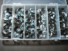 150 pcs thread cutting emblem script & moulding clip sealer nuts assortment GM