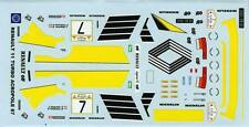 RENAULT 11 TURBO N°7   RALLYE ACROPOLI 1987 MINIRACING DECALS 1/43