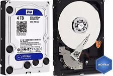 Western Digital BLUE Hard Drive WD 4TB Desktop HDD SATA 3 64MB Cache WD40EZRZ