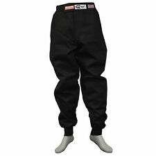 JR FIRE SUIT RACE SUIT PANTS SFI 3.2A/1 BLACK SIZE KIDS 14-16