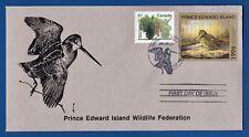 Canada (PEI02) 1996 Prince Edward Island Wildlife Federation Stamp FDC
