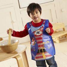 Cook smart Kids Pirate Apron Peva Baking Cooking Children Children's Waterproof