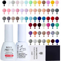 BORN PRETTY 10ml Rose Gold Nail UV Gel Polish Holographic Thermal Pure Soak off