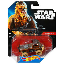 Mattel Hot Wheels Star Wars 1:64 Scale Diecast CHEWBACCA Character Car (DTB06)